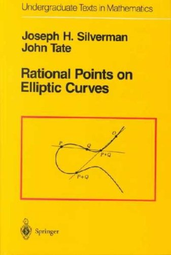 9783540978251: Rational Points on Elliptic Curves (Undergraduate Texts in Mathematics)