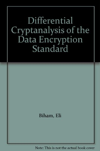 9783540979302: Differential Cryptanalysis of the Data Encryption Standard