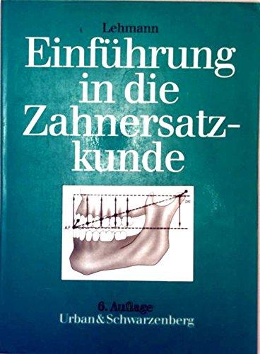 Einführung in die restaurative Zahnheilkunde. Ein Lehrbuch: Klaus M Lehmann
