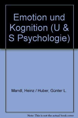 9783541105410: Emotion und Kognition (U & S Psychologie)