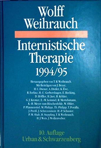 9783541137909: Internistische Therapie 1994/95