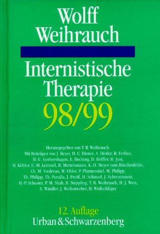 9783541137923: Internistische Therapie 1998/99