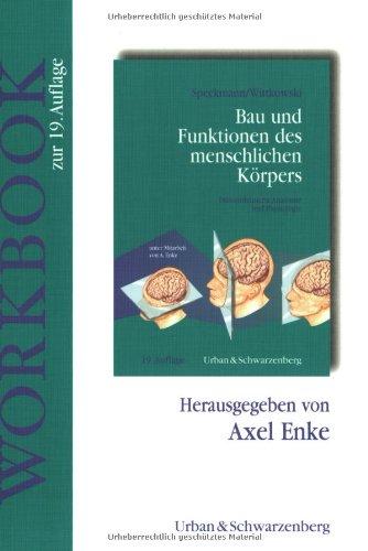 9783541195725: Bau und Funktionen des menschlichen Körpers, Workbook