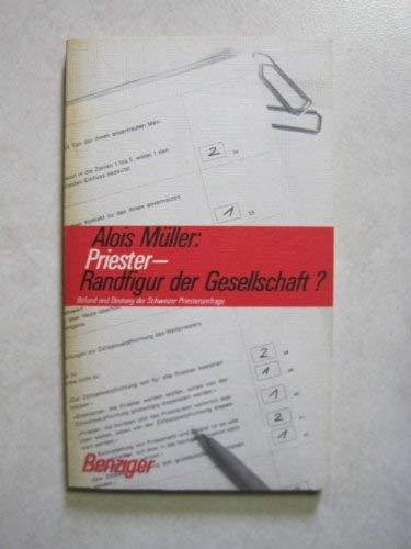 9783545210189: Priester, Randfigur der Gesellschaft?: Befund und Deutung der Schweizer Priesterumfrage (German Edition)