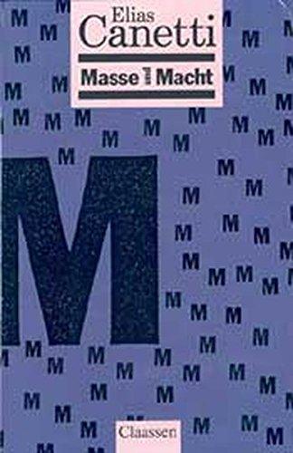 9783546000123: Masse und Macht.