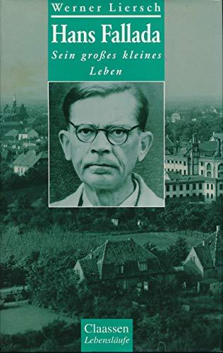 9783546000482: Hans Fallada. Sein grosses kleines Leben. Eine Biographie