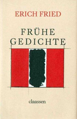 9783546429665 Frühe Gedichte Abebooks Erich Fried