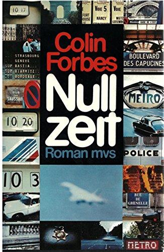 9783547728576: Nullzeit. Roman