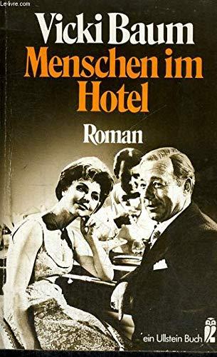 9783548000473: Menschen Im Hotel (German Edition)
