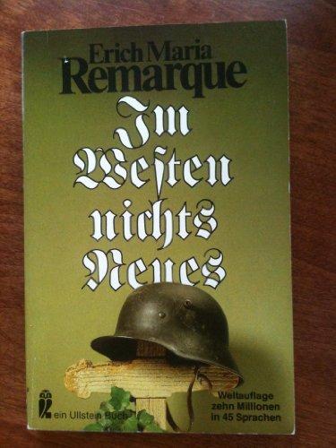 Im Westen nichts Neues [Mass Market Paperback]: Erich Maria Remarque