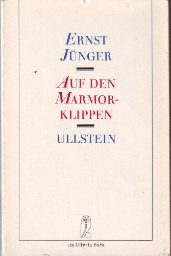 Auf den Marmorklippen. (6683 010).: Ernst Junger