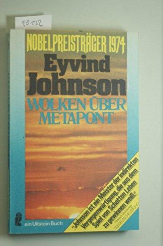 Wolken über Metapont.: Johnson, Eyvind: