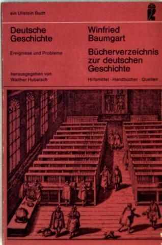 9783548038568: Bücherverzeichnis zur deutschen Geschichte