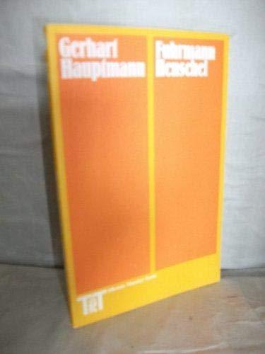 9783548049762: Fuhrmann Henschel