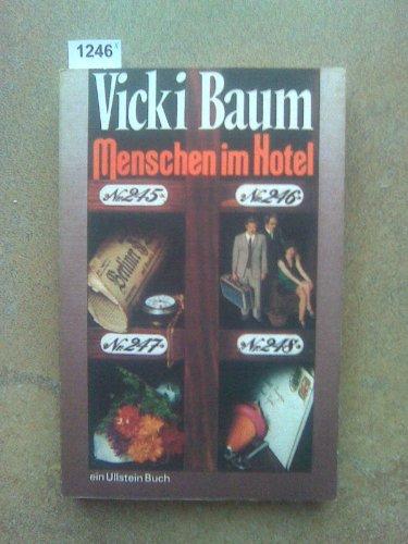 Menschen Im Hotel / Roman