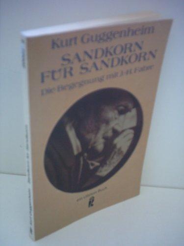 Sandkorn fur Sandkorn: Kurt Guggenheim