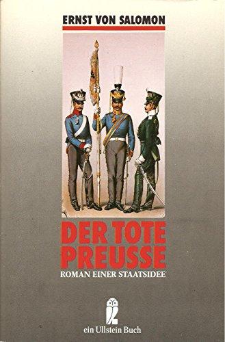 9783548209807: Der tote Preusse. Roman einer Staatsidee