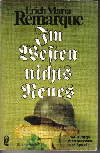 Im Westen Nichts Neues (German Edition): Remarque