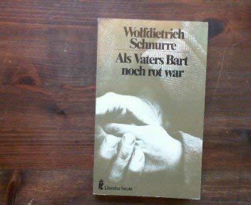9783548260082: Als Vaters Bart noch rot war: Ein Roman in Geschichten (Ullstein Buch)