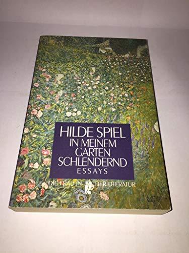 In meinem Garten schlendernd - Spiel, Hilde