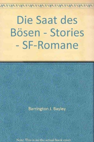 9783548310886: Die Saat des Bösen - Stories - SF-Romane