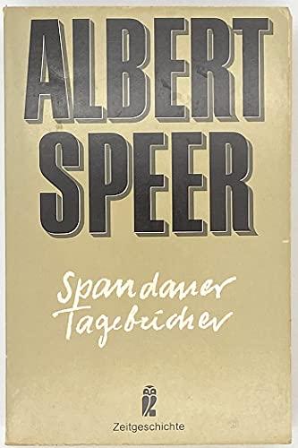9783548330099: Spandauer Tagebücher