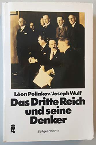 9783548330389: Das Dritte Reich und seine Denker