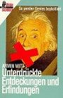 9783548349428: Unterdrückte Entdeckungen und Erfindungen
