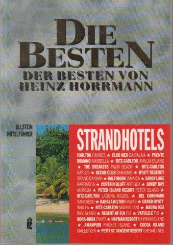 9783548352640: Die Besten der Besten, Strandhotels