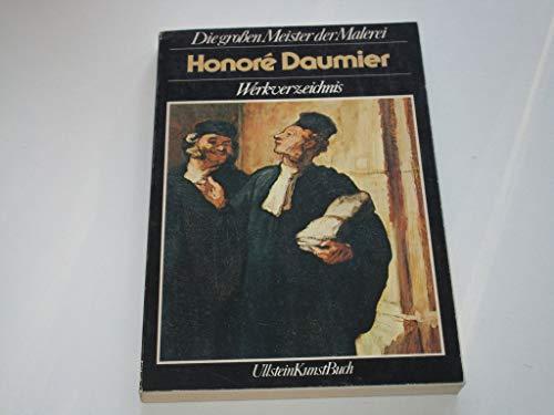 9783548360485: Honore Daumier. Werkverzeichnis.