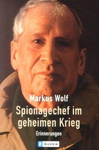 9783548365893: Spionagechef im geheimen Krieg: Erinnerungen
