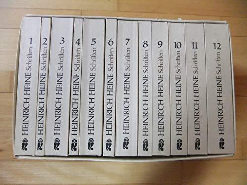 Sämtliche Schriften, 12 Bde. : Hrsg. v. Klaus Briegleb. (Ullstein Werkausgaben): Heine, Heinrich