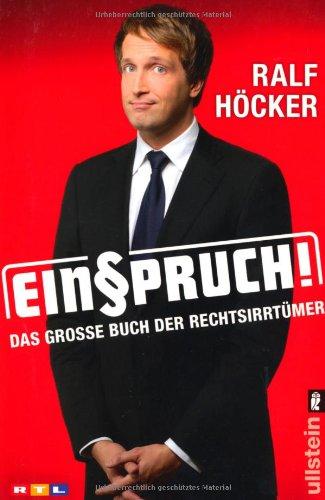 9783548373461: Einspruch!: Das große Buch der Rechtsirrtümer