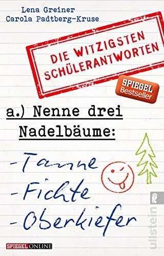Nenne drei Nadelbäume: Tanne, Fichte, Oberkiefer: Die: Padtberg-Kruse, Carola