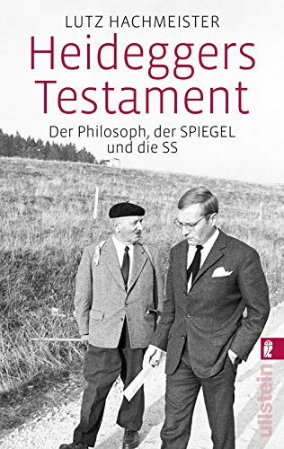 9783548375939: Heideggers Testament