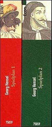 9783548750590: Spielplan: Schauspielführer von der Antike bis zur Gegenwart