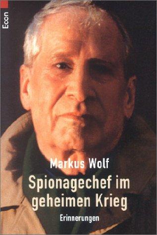 9783548750989: Spionagechef im geheimen Krieg