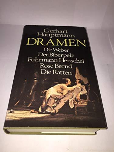 Dramen (German Edition): Hauptmann, Gerhart