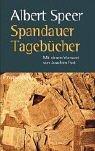 9783549071588: Spandauer Tagebücher: Mit einem Vorwort von Joachim Fest
