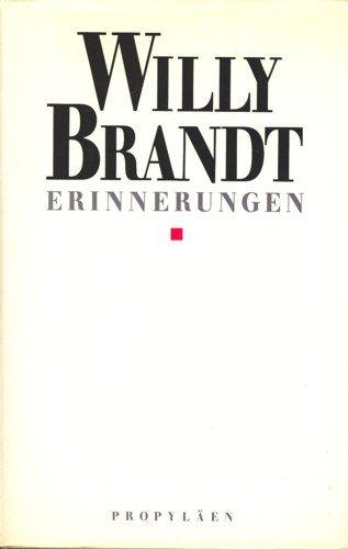 9783549073537: Erinherungen (German Edition)