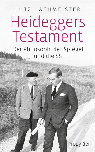 9783549074473: Heideggers Testament