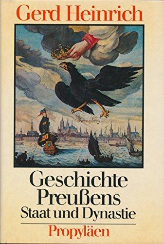 9783549076200: Geschichte Preussens: Staat und Dynastie (German Edition)
