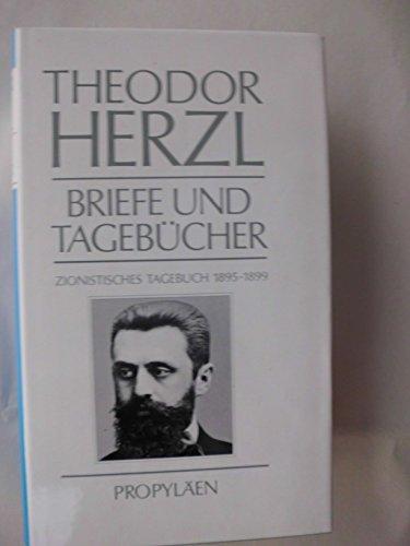 Briefe und Tagebücher - Zweiter Band: Zionistisches: Herzl, Theodor.