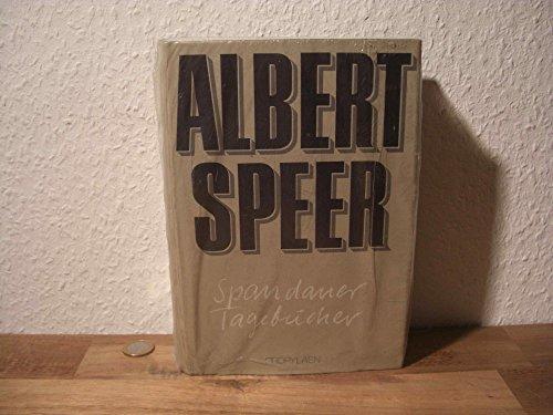Albert Speer: Spandauer Tagebücher [signierte Erstausgabe mit Schutzumschlag]: Albert Speer [*...