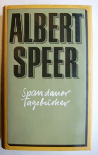 9783550060526: Spandauer Tagebücher