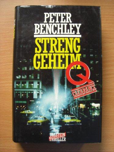 9783550061349: Q-Clearance: Streng geheim