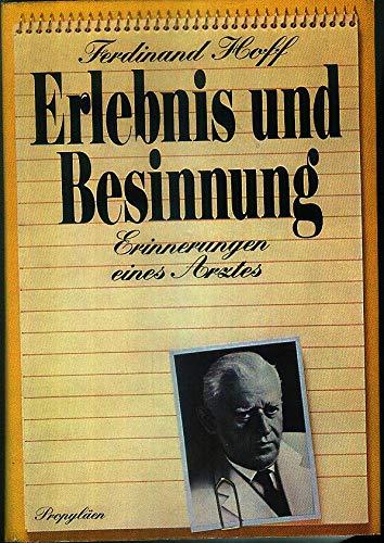 Erlebnis und Besinnung: Ferdinand Hoff