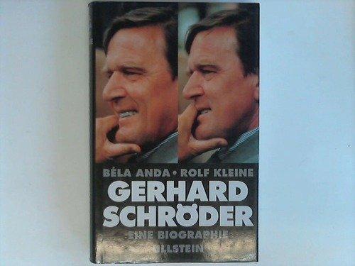 9783550070921: Gerhard Schr�der: Eine Biographie