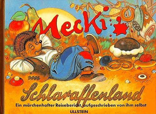 9783550088001: Mecki im Schlaraffenland