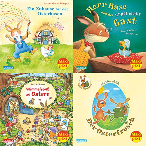 9783551030085: Maxi-Pixi-Serie Nr. 50: 4er Bundle: Frohe Ostern